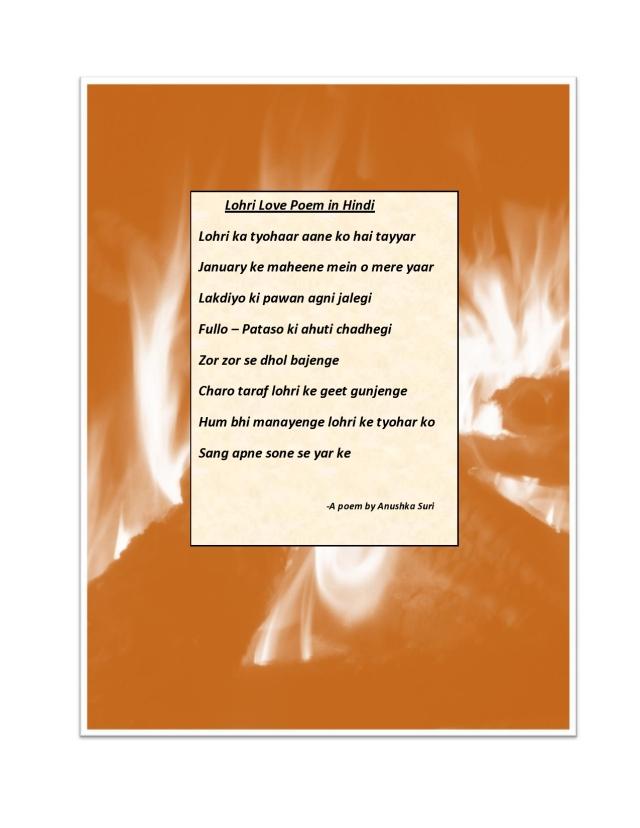 Lohri Love PoemWallpaper